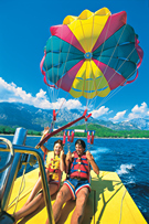 Club Phaselis parasailing