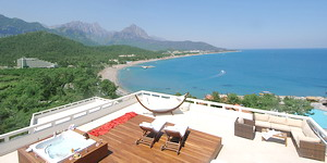 Club Phaselis Hill Executive Suite Terrace