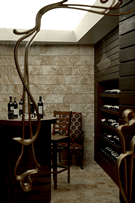 Gloria Serenity Resort Wine corner
