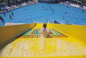 Waterslide for children
