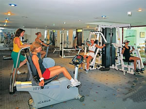 Fitness and gymnasium facilities