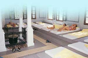 Turkish Hamam bath and sauna