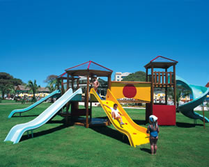 Playing area for young children.