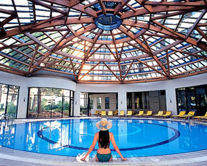 Indoor pool and solarium